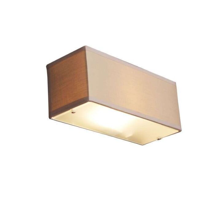 Fali-lámpa-Dob-téglalap-bézs