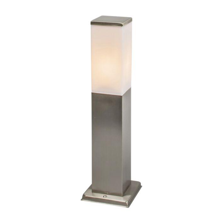 Modern-kültéri-lámpa-45-cm-acél---Malios