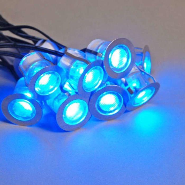Komo-LED-beépítési-készlet-10-darab-IP65-kék