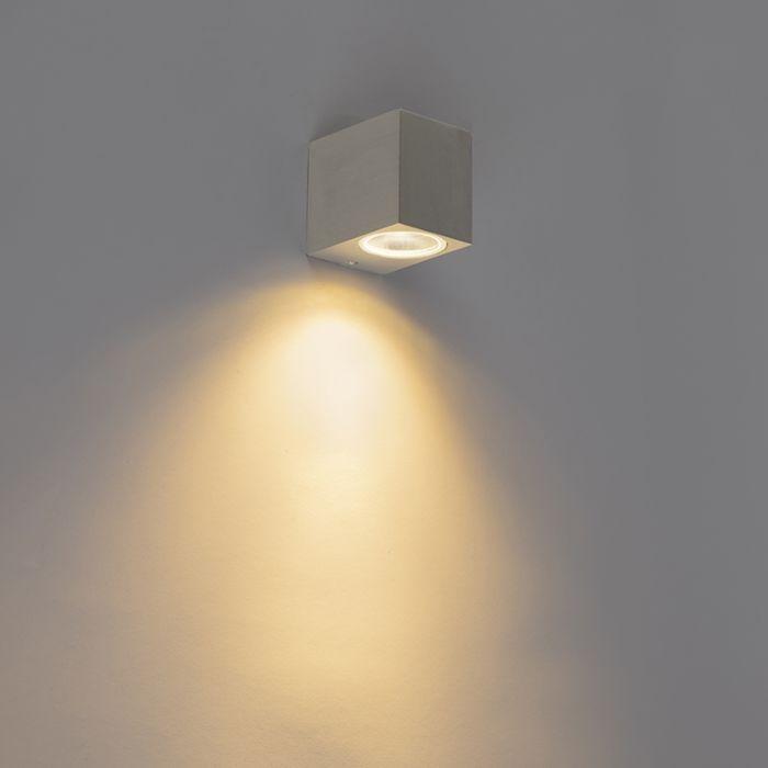 Modern-fali-lámpa-alumínium-IP44---Baleno-I.