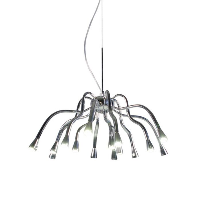 Függőlámpa-Angeline-LED-króm