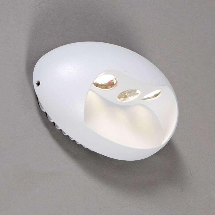 Fali-lámpa-Pole-LED-fehér