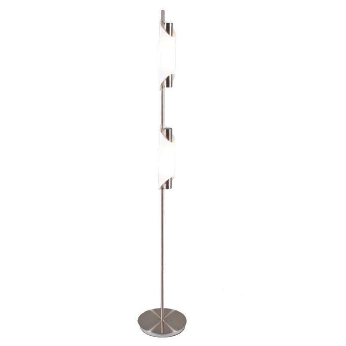 Organ-2-állólámpa-acél