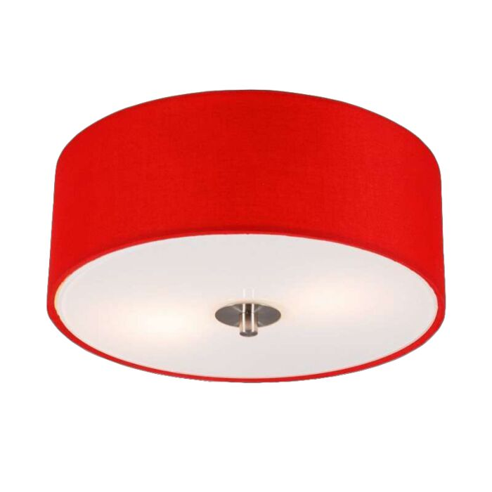Modern-mennyezeti-lámpa-piros-30-cm---Dob