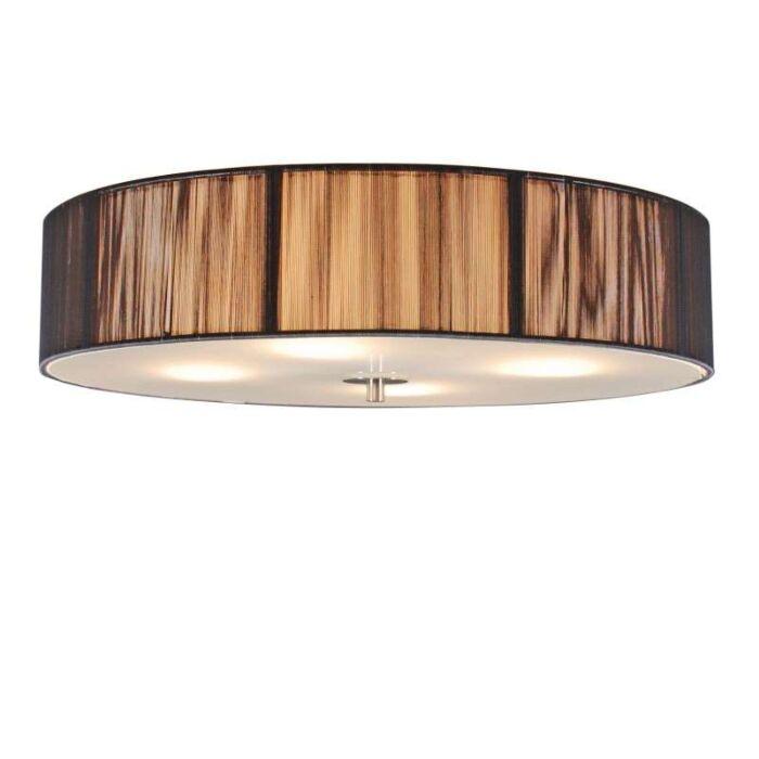 Klasszikus-mennyezeti-lámpa-antracit-50-cm---Kötél