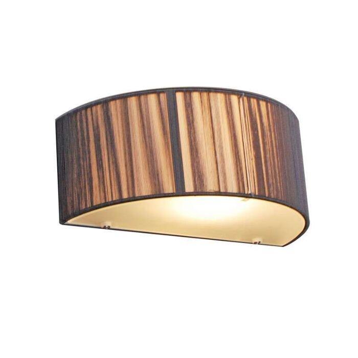 Fali-lámpa-Kötél-fél-kerek-antracit