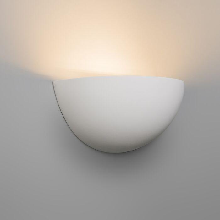 Modern-fali-lámpa-fehér-vakolat---cigány