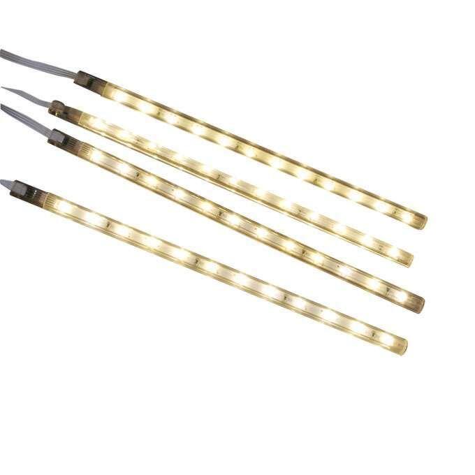 Négy-LED-szalag-készlet,-meleg-fehér
