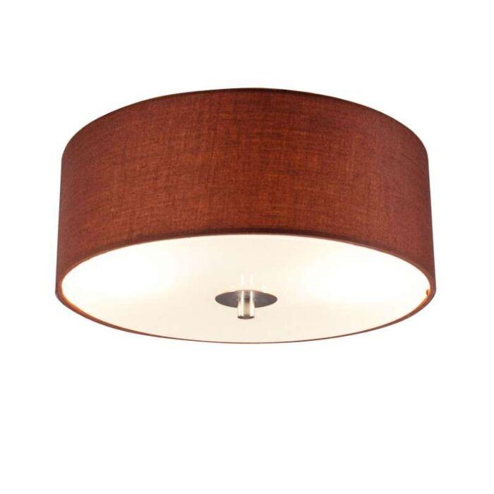 Mennyezeti-lámpa-Dob-30-kerek-barna