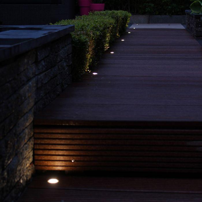 10-db-Cosi-LED-es-beépítési-készlet-meleg-fehér-színben