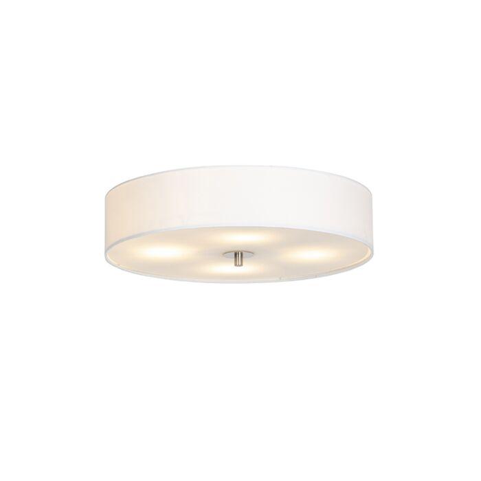 Vidéki-mennyezeti-lámpa-fehér-50-cm---Dob
