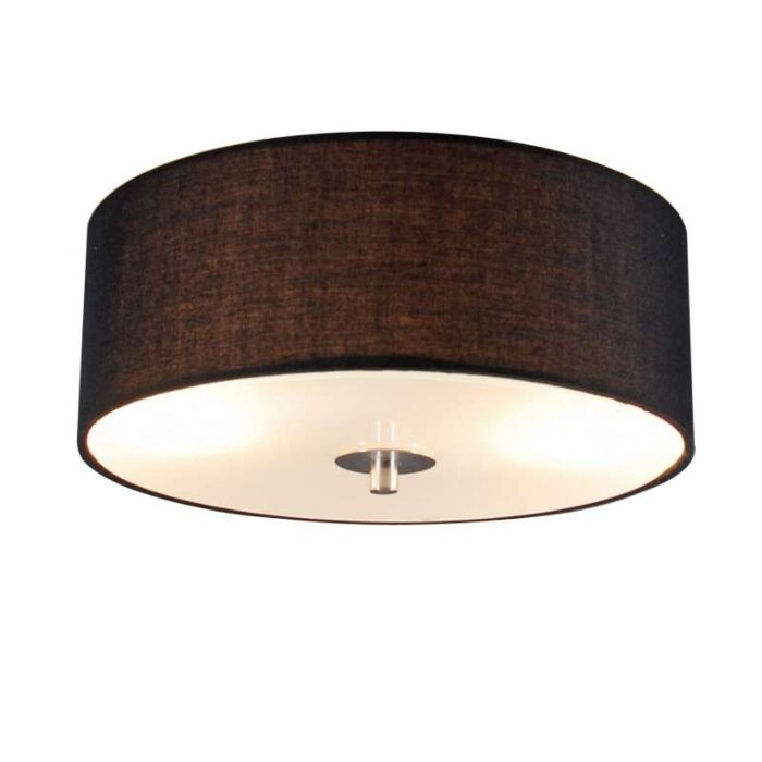 Vidéki-mennyezeti-lámpa-fekete-30-cm---Dob
