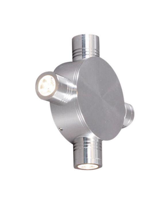 Star-LED-4-fali-lámpa-alumínium