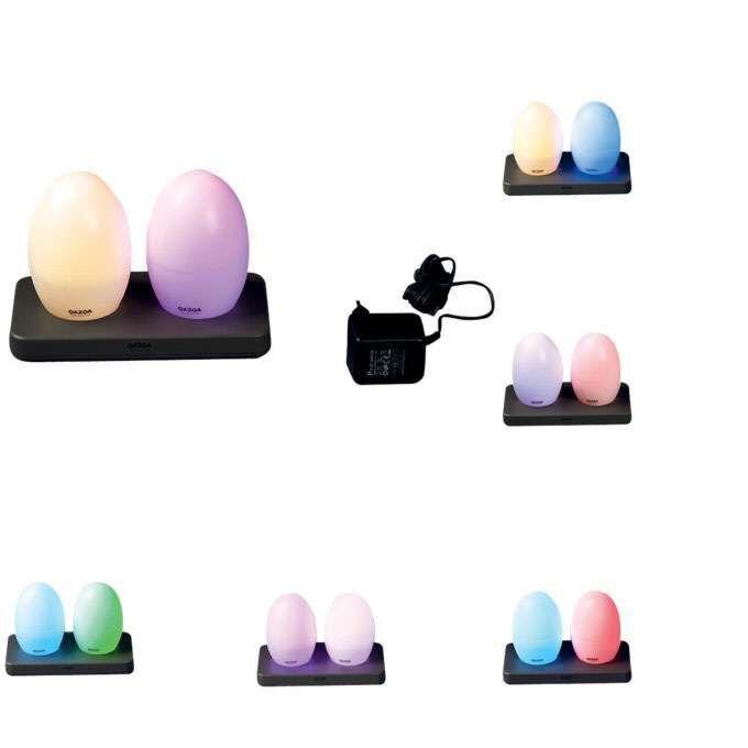 Két-LED-lámpa-EGG-újratölthető