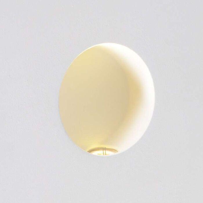 Falilámpa-Zero-kerek-LED-süllyesztett