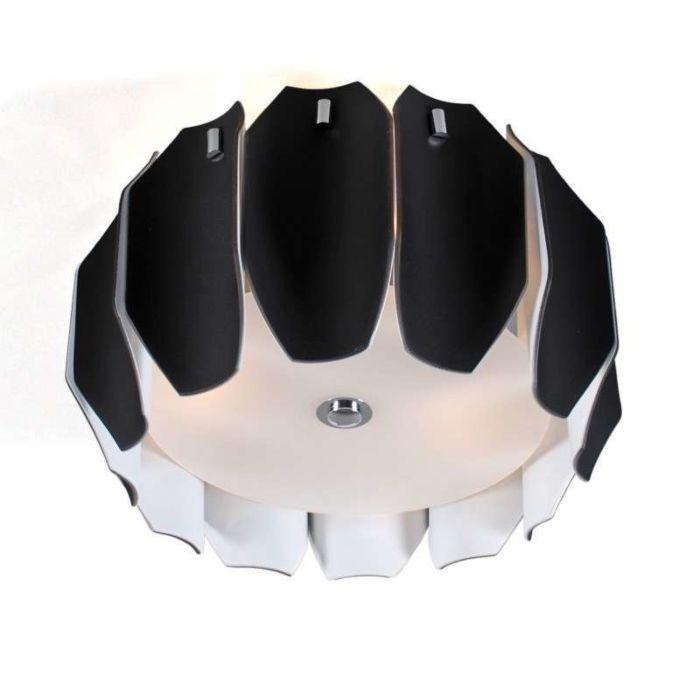 Mennyezeti-lámpa-Archo-40-króm---fekete