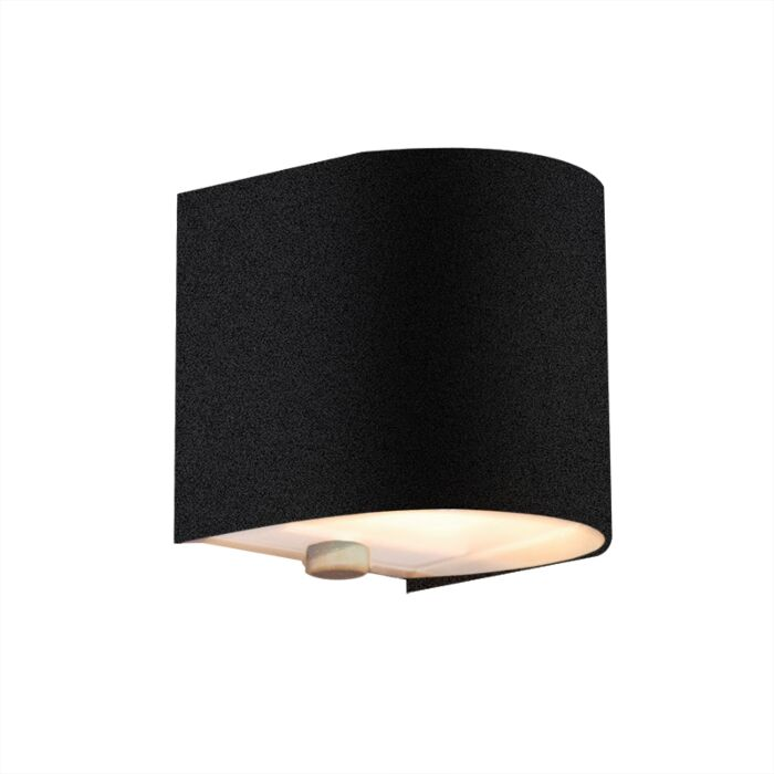 Torci-fali-lámpa-fekete