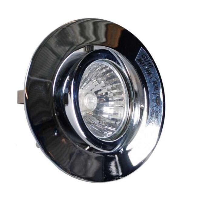 Spezia-króm-süllyesztett-reflektorfény