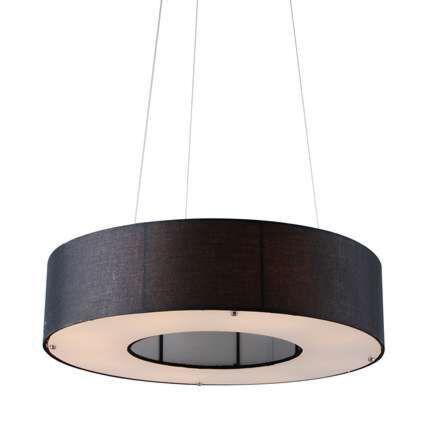 Drum-Open-függőlámpa-60cm-fekete
