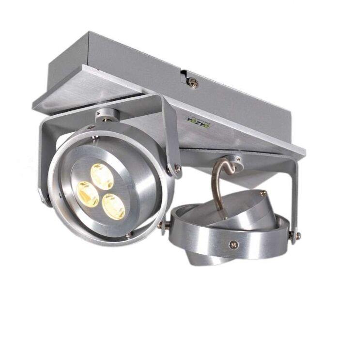 Spot-Keoni-2-LED-alumínium