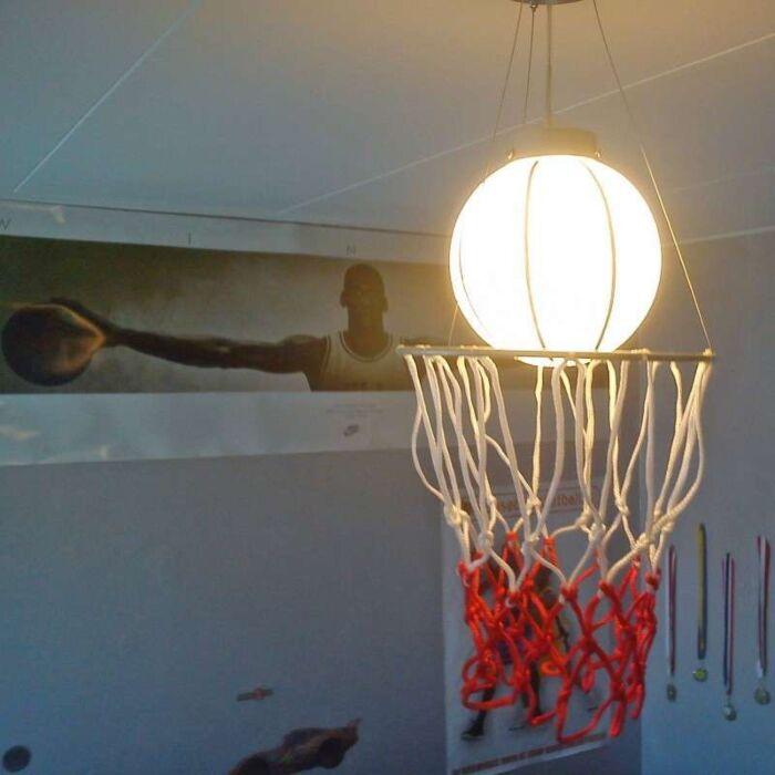 Lógó-lámpa-Gyerek-kosárlabda