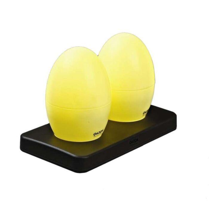 Két-újratölthető-LED-lámpa-EGG