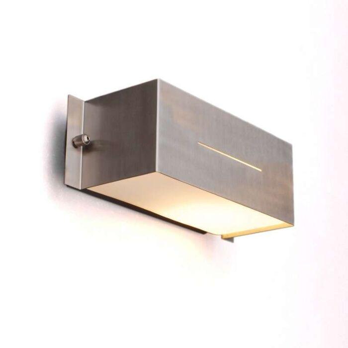 Kültéri-lámpa-Celine-fal-Szögletes-rozsdamentes-acél