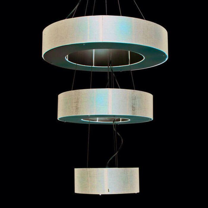 Drum-Open-függőlámpa-3-rétegű-fekete