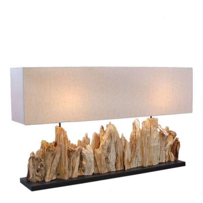Asztali-lámpa-Thak-Extra-Grande-(115cm-!!)-vászon-árnyalattal