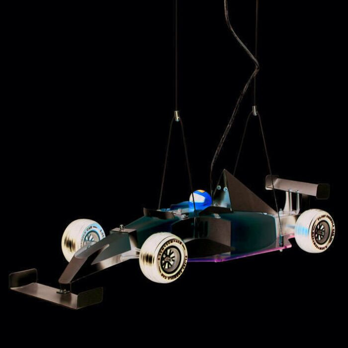 Függőlámpa-Kids-Formula-1-autó