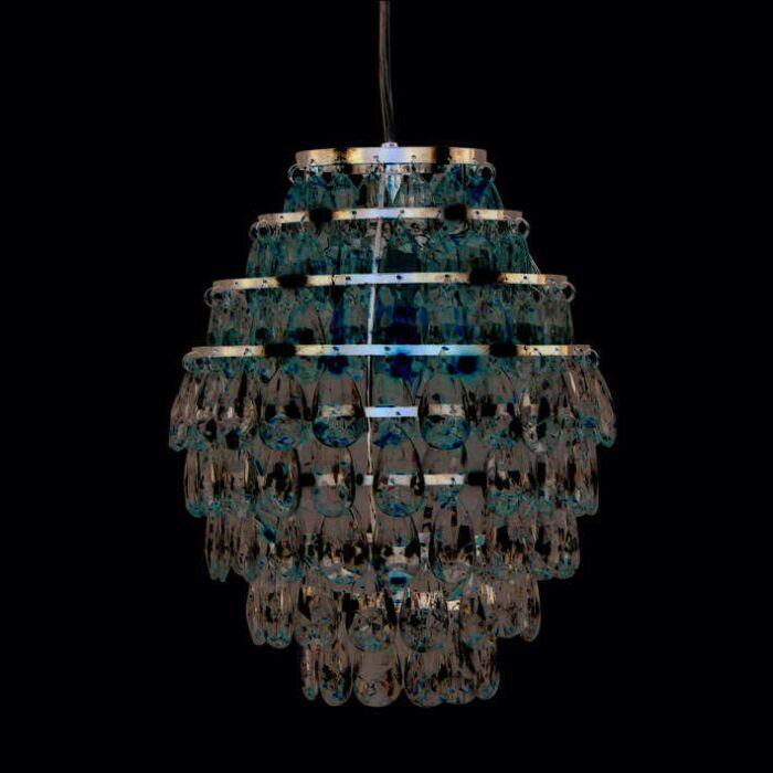 Függesztett-lámpa-Pinecone-króm