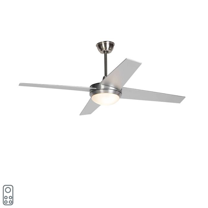 Mennyezeti-ventilátor-ezüst-távirányítóval---Roar-52