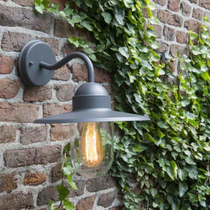 Kültéri-fali-lámpa-antracit-IP44---Kansas-grafit