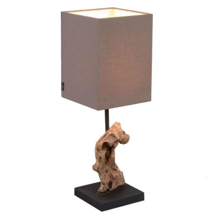 Asztali-lámpa-Vamida-barna-árnyalattal