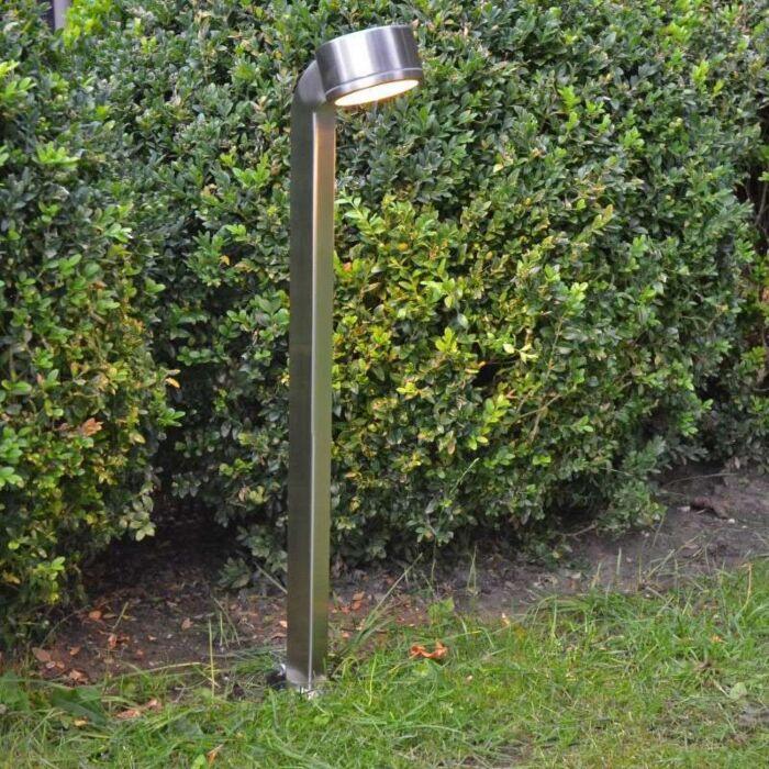 Kültéri-lámpa-Snake-pole-68cm-rozsdamentes-acél