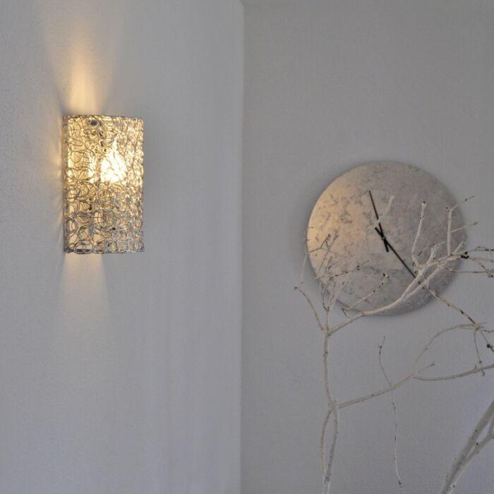 Fali-lámpa-Draht-fél-alumínium