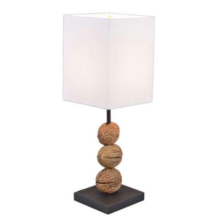 Tasanee-asztali-lámpa-fehér-árnyalattal