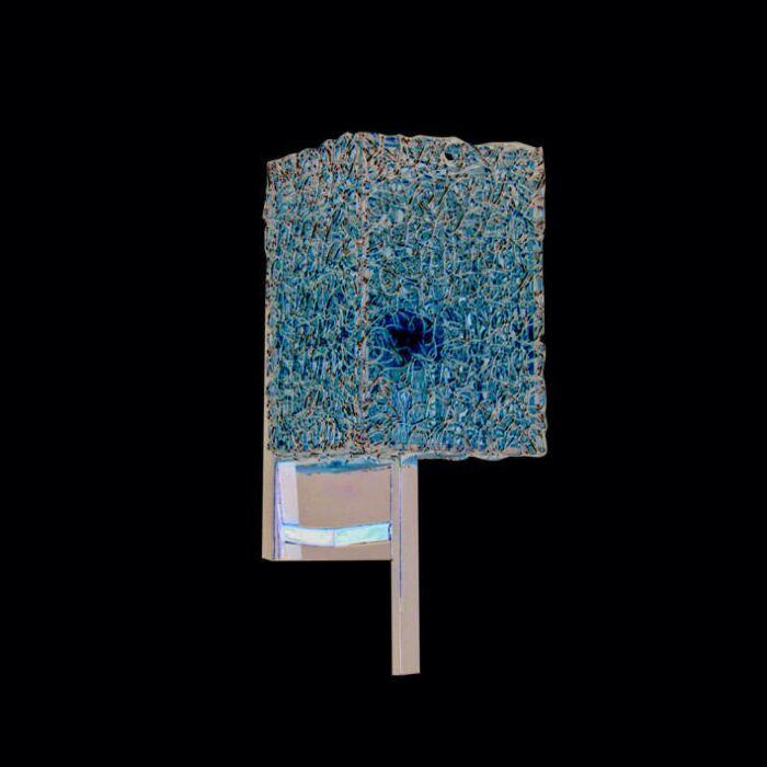 Fali-lámpa-Draht-Square-alumínium