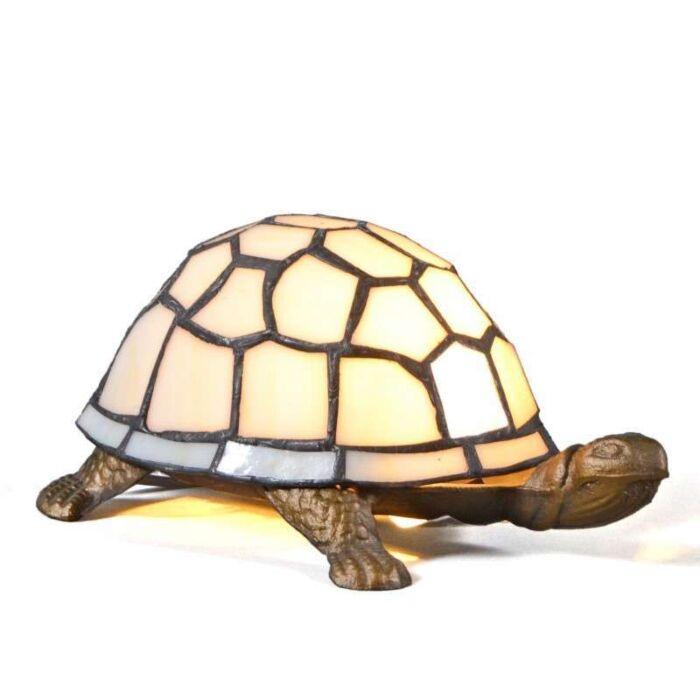 Tiffany-asztali-lámpa-Turtle