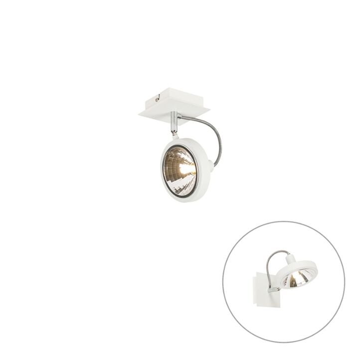 Design-fehér,-1-lámpával-állítható---Nox