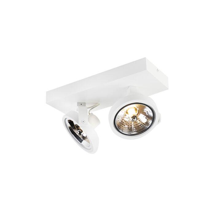 Dizájn-spot-fehér-állítható-2-lámpa,-2-x-G9---Go