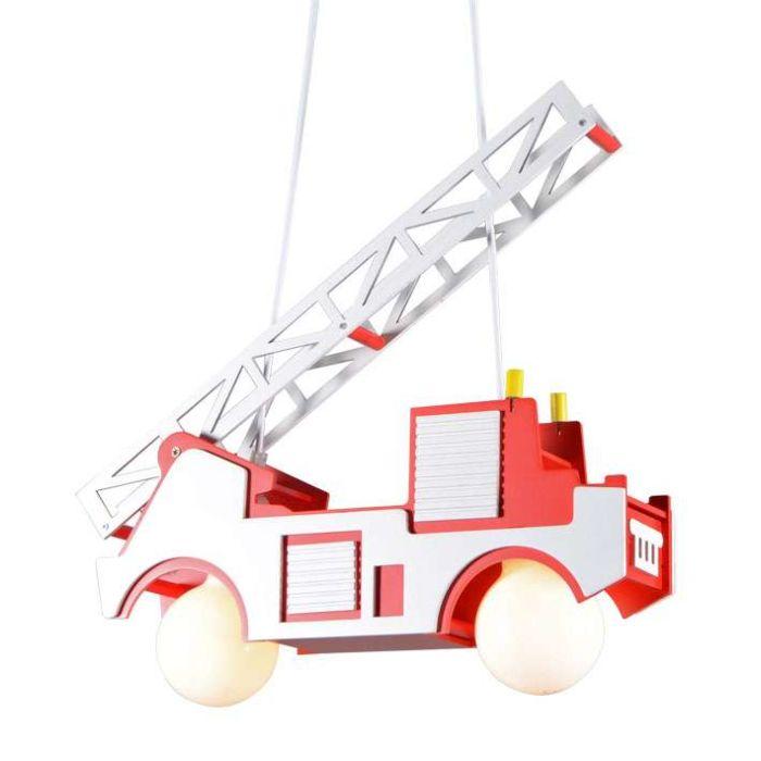 Lógó-lámpa-Gyerekek-tűzoltóautó