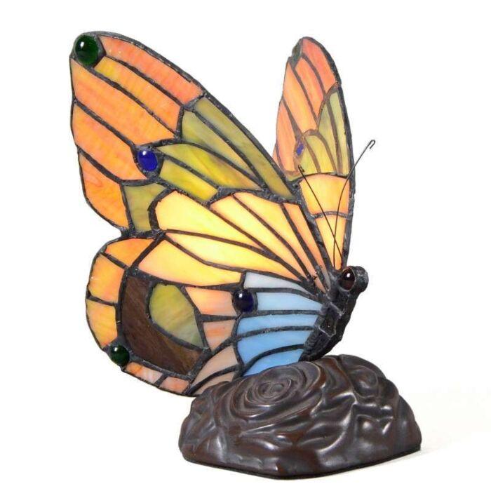 Tiffany-asztali-lámpa-Pillangó