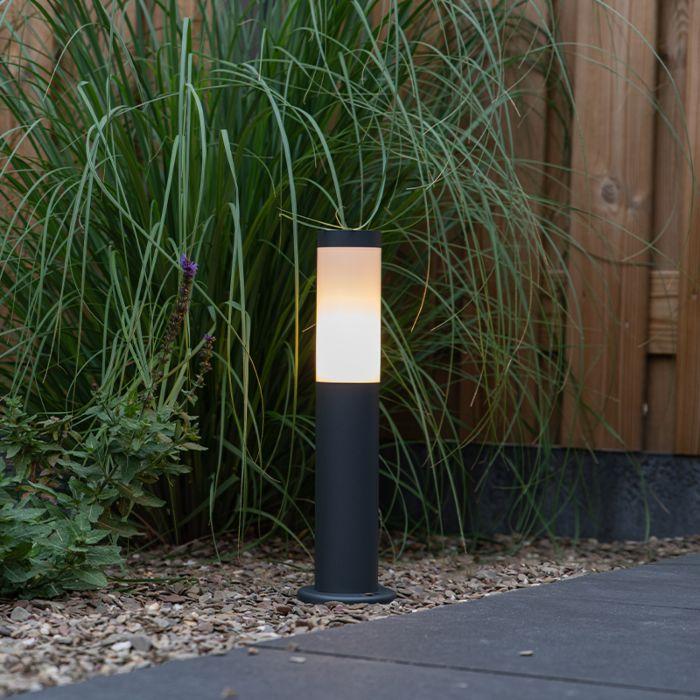 Kültéri-lámpaoszlop-antracit-45-cm-IP44---Rox