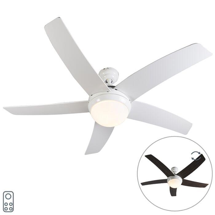 Mennyezeti-ventilátor-fehér-távirányítóval---Cool-52
