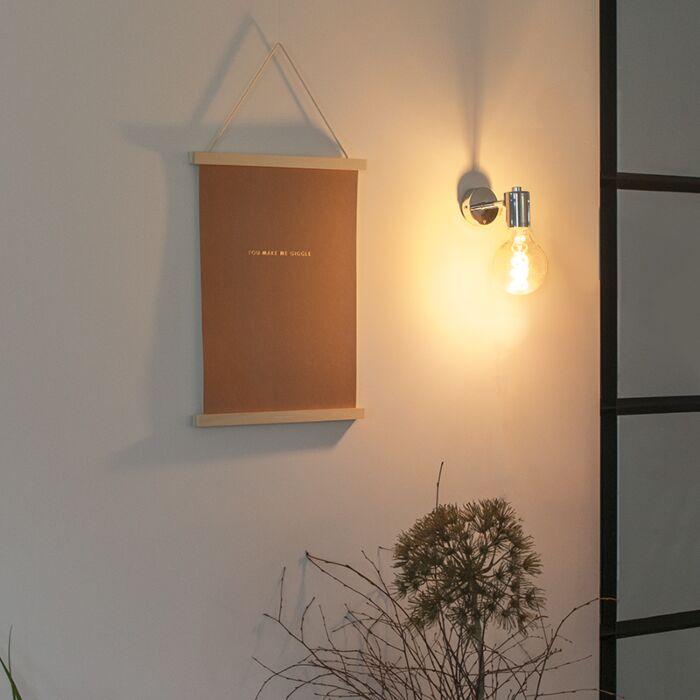 Modern-fali-lámpa-króm---Facil-1