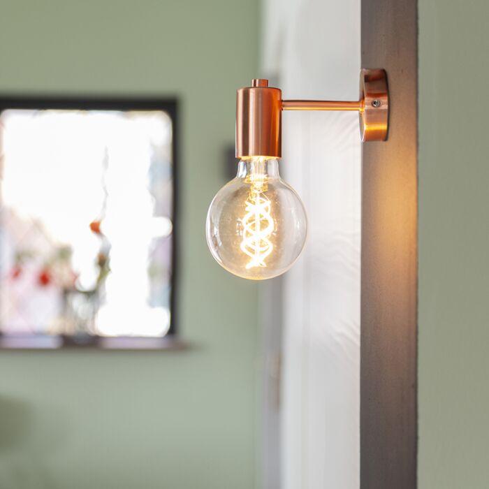 Art-deco-fali-lámpa-réz---Facil-1