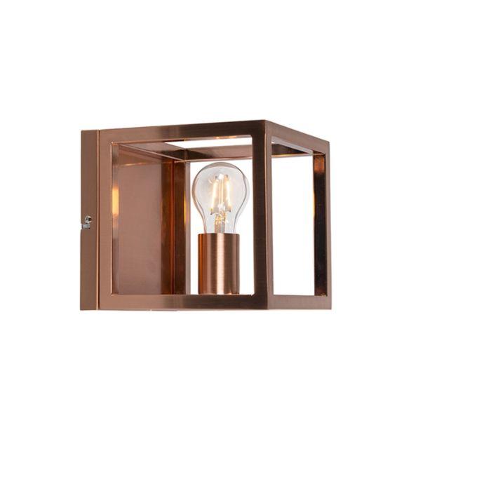 Falilámpa-Cage-1-rézlámpa
