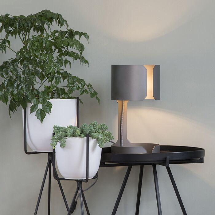 Design-asztali-lámpa-matt-acél---Waltz