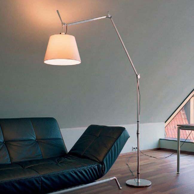 Alumínium-állólámpa-árnyékolással---Artemide-Tolomeo-Mega-Terra